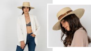 Sombrero Boston Palma Natural, sin cinta masario
