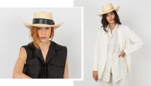 Sombrero Gamboa Panama Blanqueado, sin cintamasario