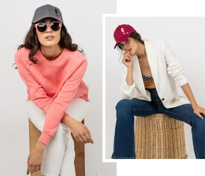 gorras solidarias mujer masario