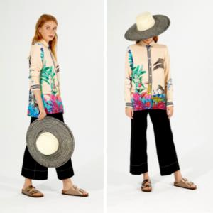sombrero pamela rayas invitadas masario
