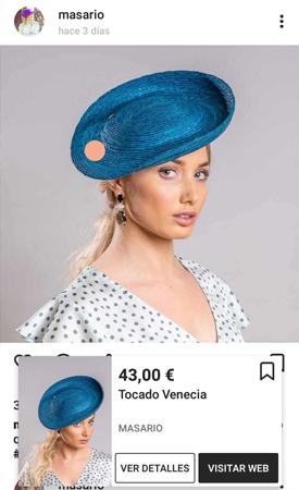 tocados sombreros