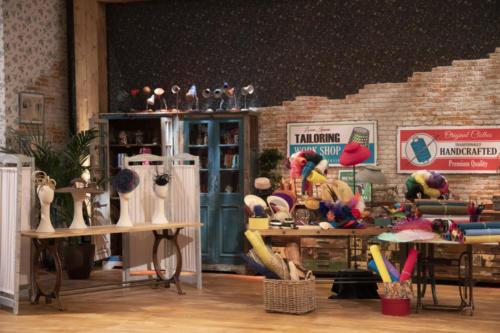 Pamelas y Tocados Masario en el programa Maestros de la costura (5)