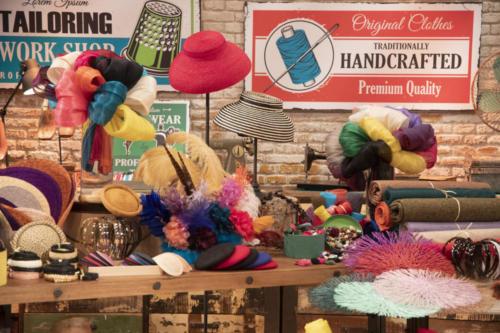 Pamelas y Tocados Masario en el programa Maestros de la costura (7)